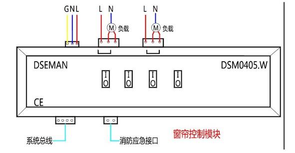 基于51单片机的窗帘系统电路图
